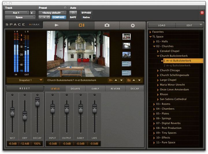automate reverb