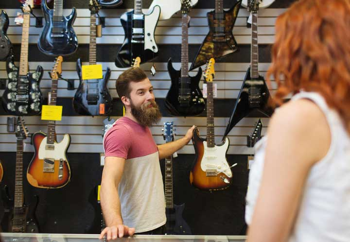 avoid when buy electric guitar
