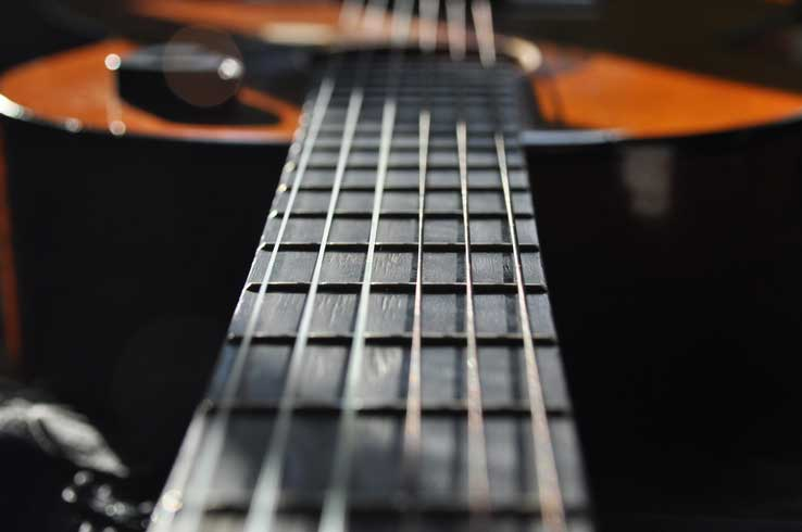 learning the guitar fretboard efficiently